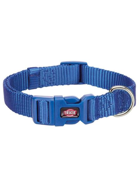 Ошейник Trixie нейлоновый «Premium» XS-S 22-35 см / 10 мм (синий) - 201402