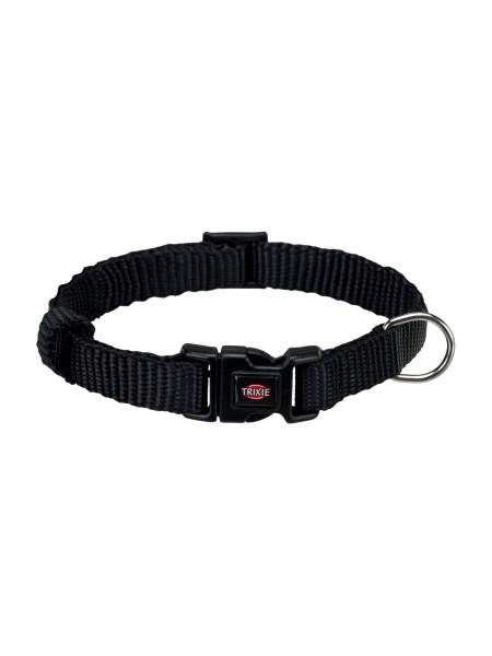 Ошейник Trixie нейлоновый «Premium» XS-S 22-35 см / 10 мм (чёрный) - 20141