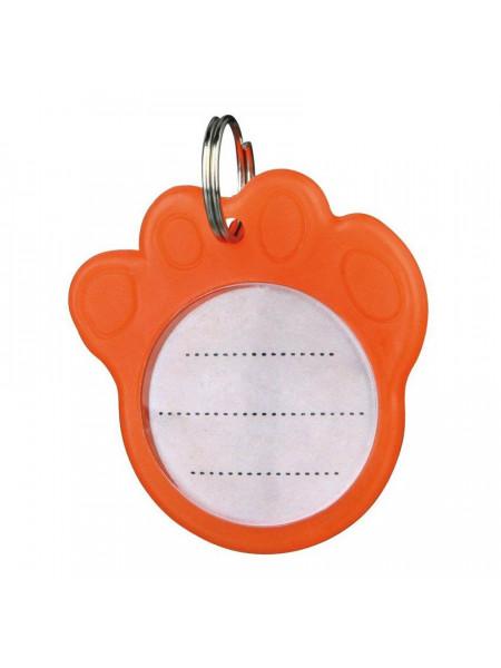 Медальон-Адресник Trixie с фосфоресцентным покрытием d=3,5 см (пластик)