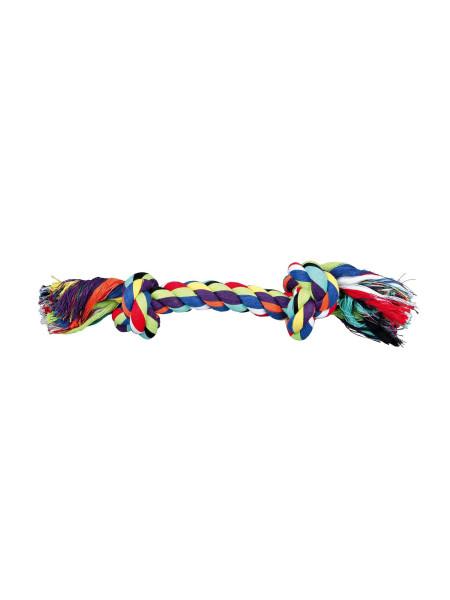 Игрушка для собак Trixie Канат плетёный 26 см (текстиль, цвета в ассортименте)