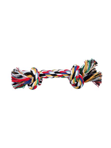 Игрушка для собак Trixie Канат плетёный 15 см (текстиль, цвета в ассортименте)