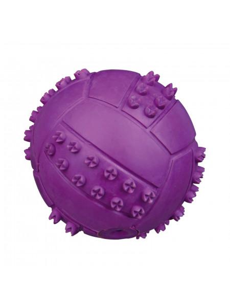 Игрушка для собак Trixie Мяч с пищалкой d=6 см (резина, цвета в ассортименте) - 34841