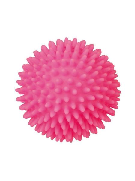 Игрушка для собак Trixie Мяч игольчатый с пищалкой d=7 см (винил, цвета в ассортименте) - 3414
