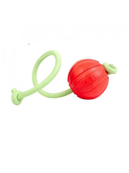 Игрушка для собак Collar мячик Лайкер Люми на шнуре d = 9 см