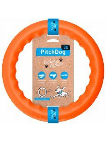 Игрушка для собак Collar кольцо для апортировки d= 28 см (пластик)