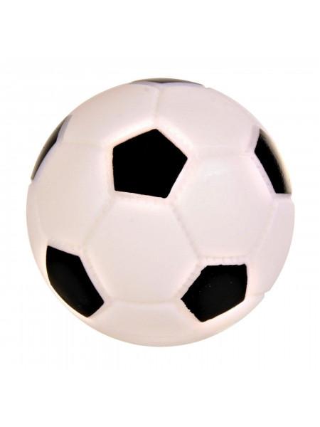 Игрушка для собак Trixie Мяч футбольный с пищалкой d=6 см (винил)