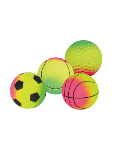 Игрушка для собак Trixie Мяч d=7 см (вспененная резина, цвета в ассортименте) - 3458