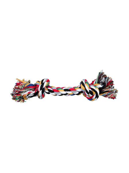 Игрушка для собак Trixie Канат плетёный 20 см (текстиль, цвета в ассортименте)