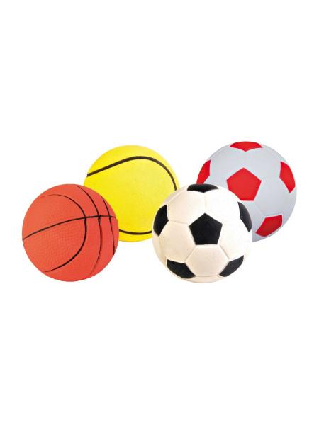 Игрушка для собак Trixie Мяч d=6 см (вспененная резина, цвета в ассортименте) - 3453