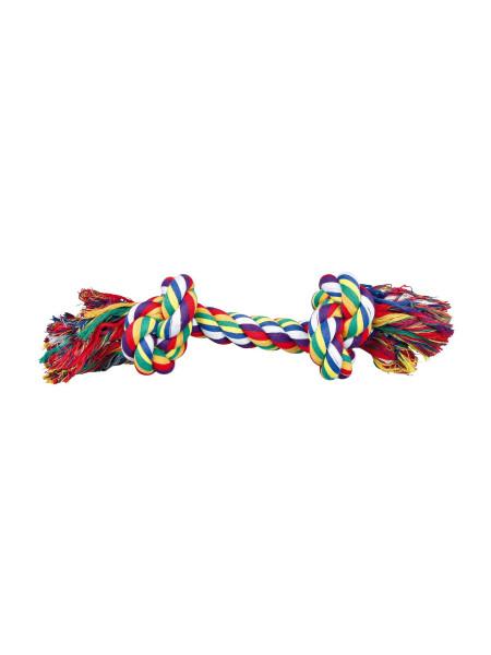 Игрушка для собак Trixie Канат плетёный 40 см (текстиль, цвета в ассортименте)
