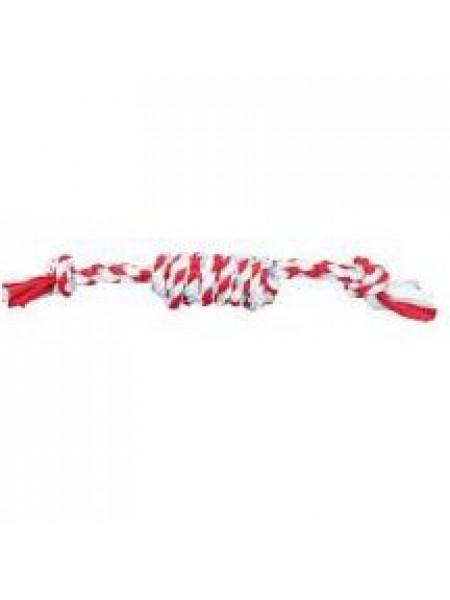 Игрушка для собак Trixie «Игровой канат с узелками» 31 см (текстиль)