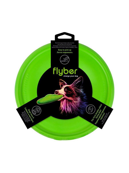 Игрушка для собак Collar Летающая тарелка «Flyber» (Флайбер) d=22 см (вспененный полимер)