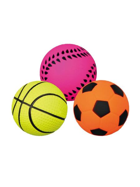 Игрушка для собак Trixie Мяч d=4,5 см (вспененная резина, цвета в ассортименте)
