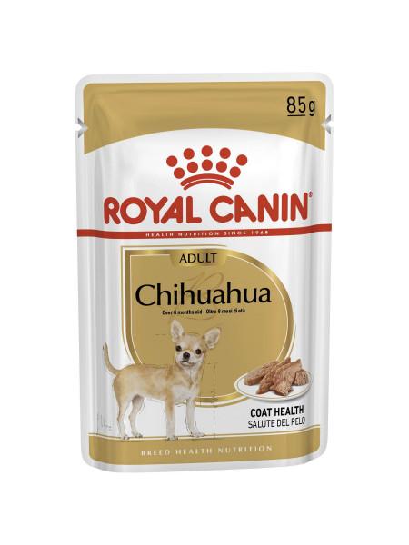 Влажный корм для взрослых собак породы чихуахуа Royal Canin Chihuahua Adult 85 г (домашняя птица)