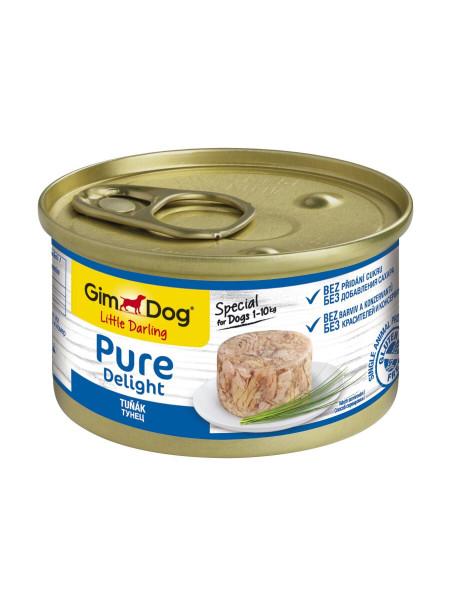 Влажный корм для собак GimDog LD Pure Delight 85 г (тунец)
