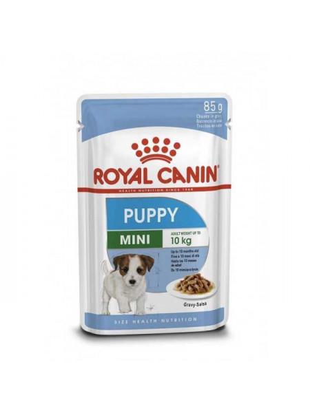 Влажный корм для щенков мини пород Royal Canin Mini Puppy 85г (домашняя птица)
