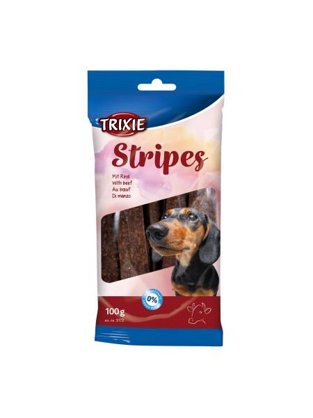 Лакомство для собак Trixie Stripes Light 100 г (говядина)