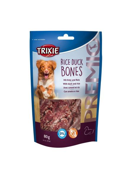Лакомство для собак Trixie PREMIO Rice Duck Bones 80 г (утка)