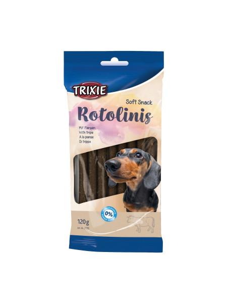Лакомство для собак Trixie Rotolinis 120 г (рубец)
