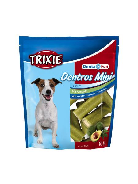 Лакомство для собак Trixie Denta Fun Dentros Mini 140 г (авокадо)