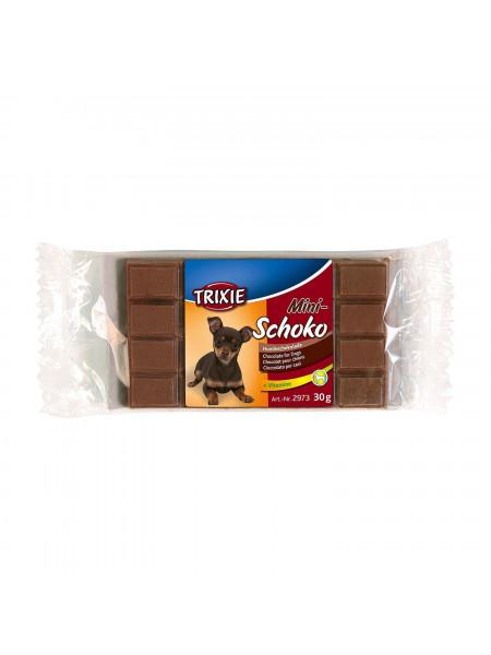 Лакомство для собак Trixie «Mini Schoko Dog Chocolate» 30 г (шоколад)