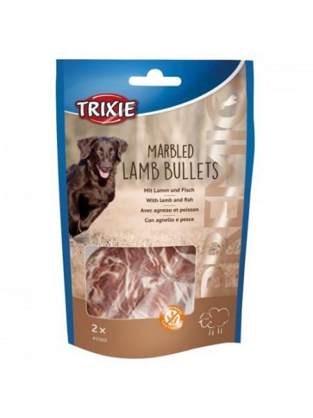 Лакомство для собак Trixie PREMIO Marbled Lamb Bullets, 2штх25 г (ягненок)