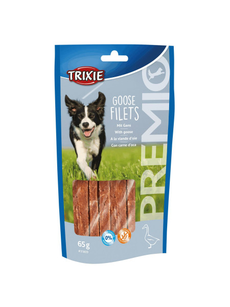 Лакомство для собак Trixie PREMIO Goose Filets 65 г (утка)