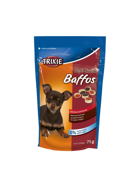 Лакомство для собак Trixie «Baffos» 75 г (говядина)