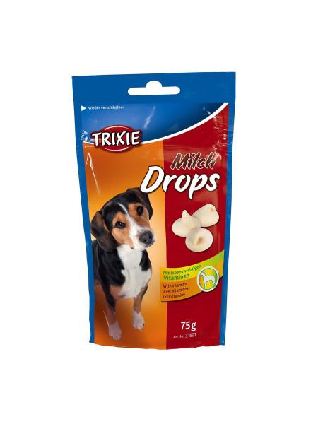 Лакомство для собак Trixie «Milk Drops» 75 г (молоко)