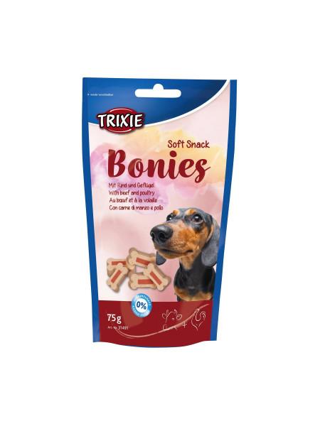 Лакомство для собак Trixie «Bonies» 75 г (ягненок и говядина)