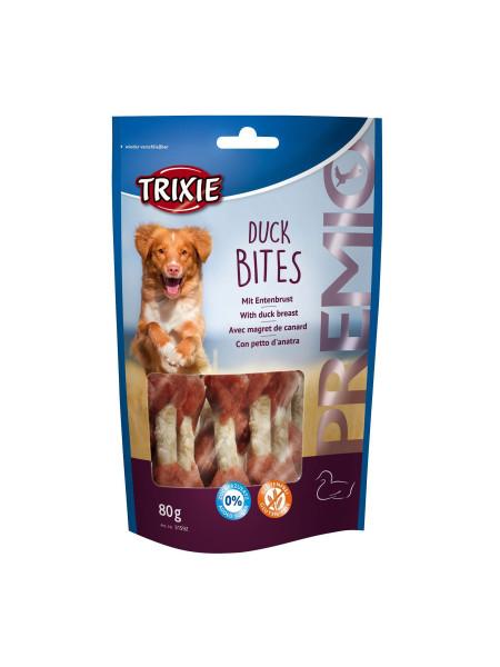 Лакомство для собак Trixie PREMIO Duck Bites 80 г (утка)