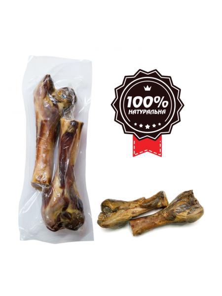Лакомство для собак Alfa Spirit Ham Bones Two Half 15 см / 2 шт