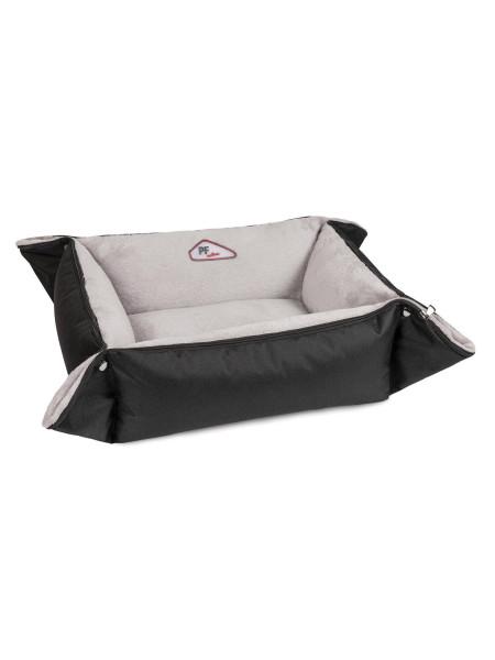 Лежак Pet Fashion «Simon» 52 x 42 x 18 см (чёрно-белый)