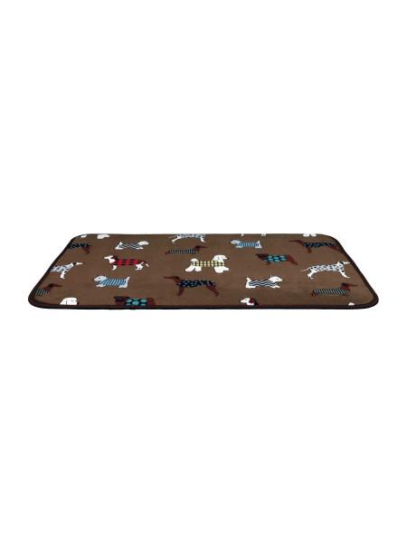 Коврик Trixie «FunDogs» 90 см / 68 см (коричневый)