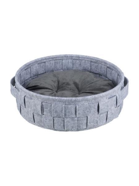 Лежак Trixie «Lennie» d=40 (серый)