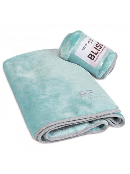 Плед Pet Fashion «Bliss» 77 см / 60 см (зелёный)