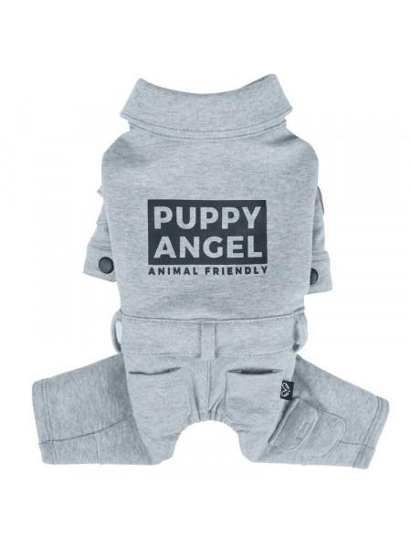 Комбинезон для собак Puppy Angel «Jumpsuit» S (серый)