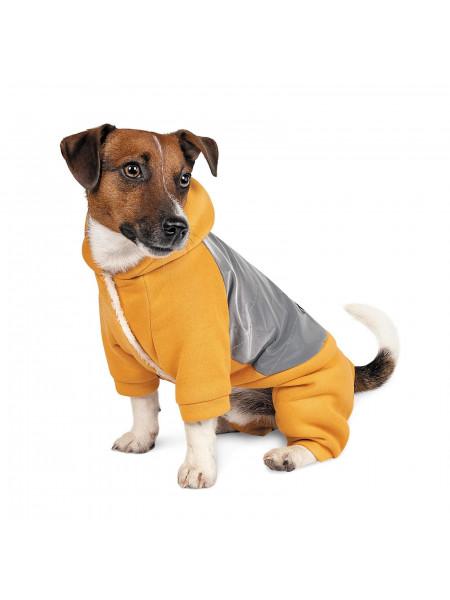 Костюм Pet Fashion «Leaf» XXS (оранжевый)