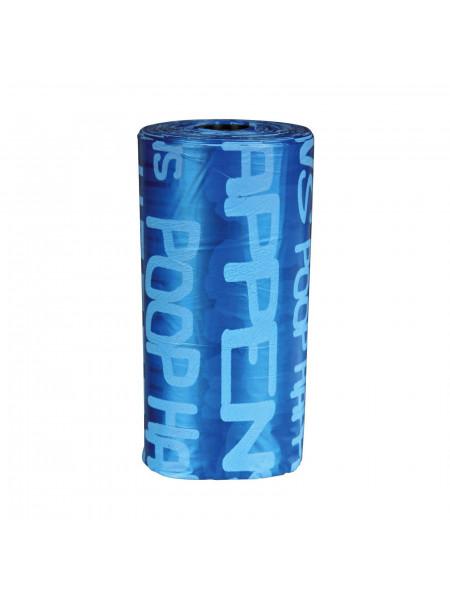 Пакеты Trixie для уборки за собаками, 1 рулон / 20 пакетов, размер M (полиэтилен)