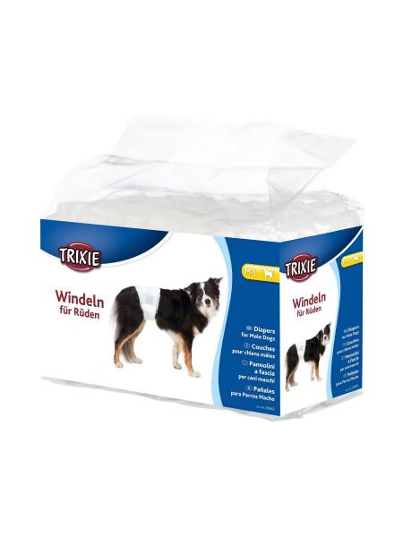 Подгузники для собак (девочек) Trixie 46-60 см M-L 12 шт.