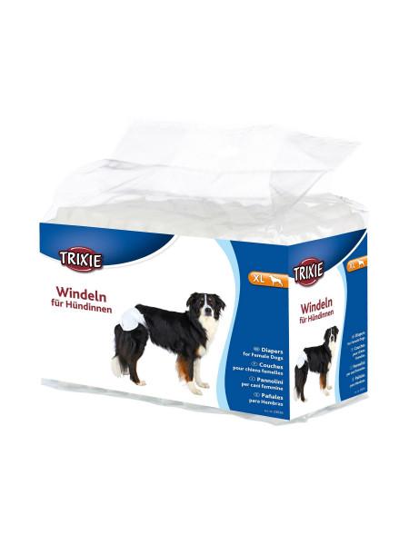 Подгузники для собак (девочек) Trixie 40-58 см XL 12 шт.