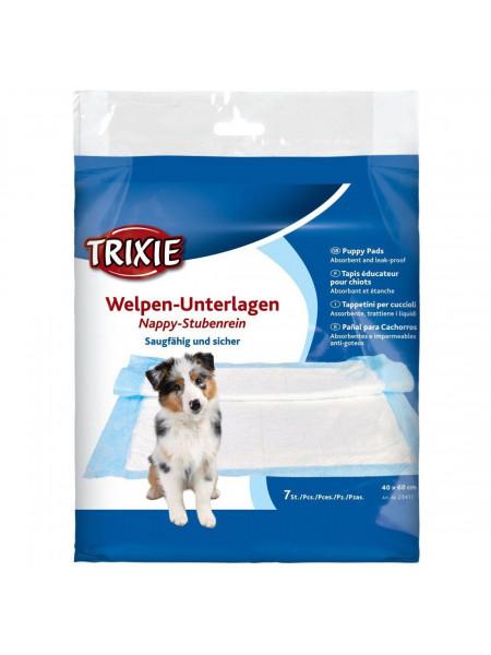 Пелёнки для собак Trixie 40 x 60 см, 7 шт. (целлюлоза)