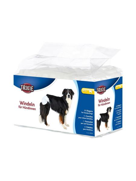 Подгузники для собак (девочек) Trixie 36-52 см M-L 12 шт.