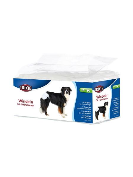 Подгузники для собак (девочек) Trixie 32-48 см M 12 шт.