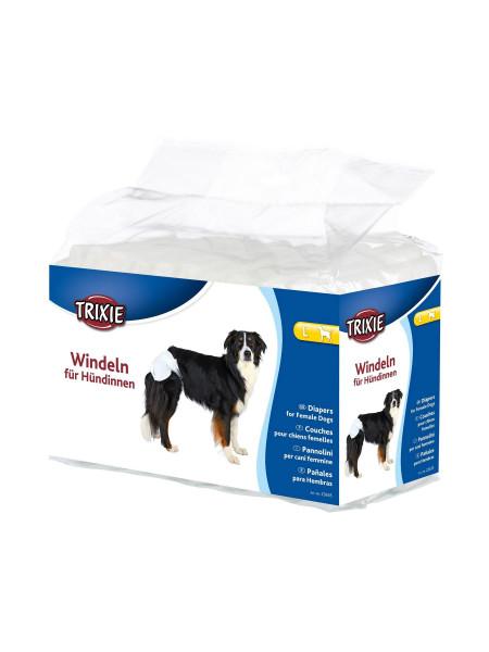 Подгузники для собак (девочек) Trixie 38-56 см L 12 шт.