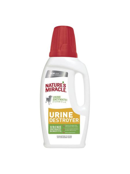 Устранитель Nature's Miracle «Urine Destroyer» для удаления пятен и запахов от мочи собак 946 мл