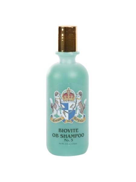 Шампунь для кошек и собак Crown Royale «Biovite №3» 236 мл (для густой и жесткой шерсти) - cts