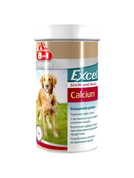 Кальций для собак 8in1 Excel «Calcium» 155 таблеток (для зубов и костей)
