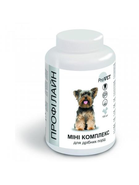 Витаминно-Минеральная добавка для собак ProVET Профилайн Мини комплекс 100 табл, 123 г