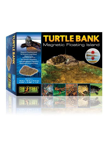 Декорация для террариума Exo Terra «Turtle Bank» Плавающий остров S 17 x 12 x 3 см (пластик)